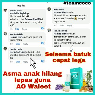 Testimoni AO Waleet Aromatherapy Oil